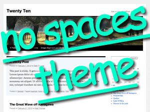 tutoring theme no spaces